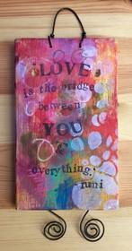 Love is the Bridge - Original Art