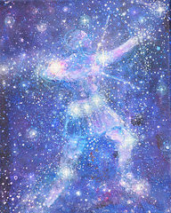 Orion's Belt - Greeting Card