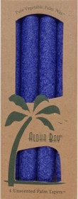 Indigo Palm Wax Taper Candles