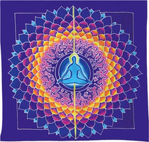 Meditation Lotus Wall Hanging