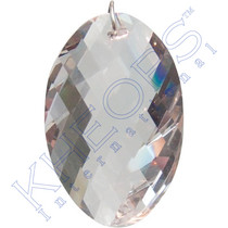 Prism Crystal - 45mm Twisted Oval