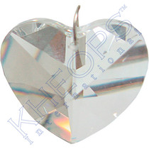 Prism Crystal - 40mm Heart