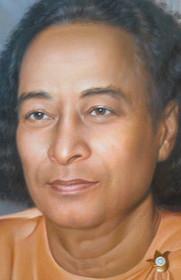 Paramhansa Yogananda Photo (Cropped) - Biltmore Samadhi - 5x7