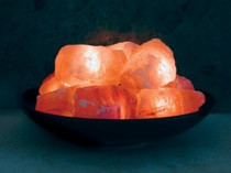 Fire Bowl with 10 Salt Stones
