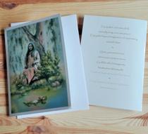 Samadhi Under the Tree Greeting Card
