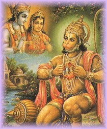 Hanuman Kneeling - Foam Backed