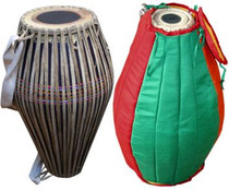 Maha Mridanga Clay Drum- 23""