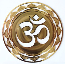 Gold Plated OM - Greeting Card