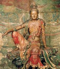 Kuan Shih Yin - Water and Moon - Tall Jar Candle