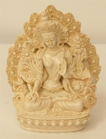 Statue - White Tara - Large