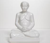 "Lahiri Mahasaya Meditating - White 8"""