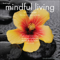 Live a more mindful life throughout the year with this calendar featuring breathtaking art and reflective words of wisdom.