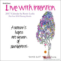 A year of living intentionally with Renée Locks - sure to nourish, heal, and bless the mind, heart, and spirit.