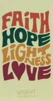 Faith, Hope, Lightness, Love Magnet