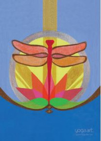 Light of the Dragonfly - Greeting Card