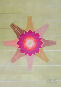 Lotus Añjali Mudra - Greeting Card