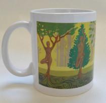 Tree Poses - Mug - Front View