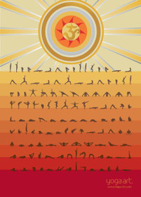Ashtanga Primary Series - Poster