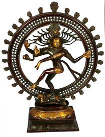 "Statue - Brass Nataraj 22"""