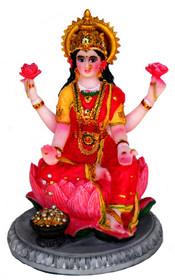 """Statue - Lotus Lakshmi 5.25"""""""