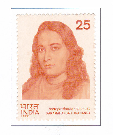 Paramahansa Yogananda Commemorative Stamps - 35 Stamp Sheet