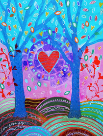 Love Gives Joy - Greeting Card