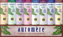 Auromere Ayurvedic Incense Sample Pack - 8 Fragrances