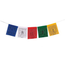 Tibetan Taxi Prayer Flag - Small