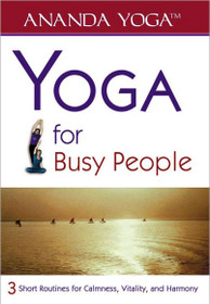 Yoga for Busy People DVD