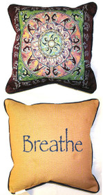 Yoga/Breathe Pillow