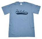T-shirt, Hoboken Swoosh, Slate Blue