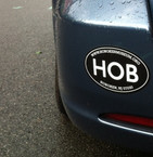 """HOB"" Sticker"