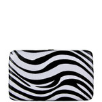 RED TRIM ZEBRA LOOK FLAT THICK WALLET FW2-0307RED