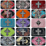 ASSORTED THICK FLAT CROSS WALLET STARTER PACKAGES SP1-0400AST