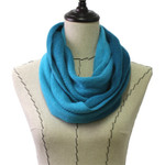 BLUE FADED LONG COTTON NECK SCARF NS1-0167BLU