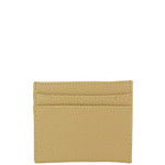 BEIGE PLAIN LEATHERETTE MENS CARD HOLDER MW4-0402BEI