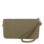 TAN PLAIN LOOK FASHION WALLET FW1-0207TAN