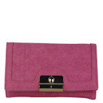 HOT PINK INFINITY DESIGN LOOK FASHION WALLET FW1-0210HPK