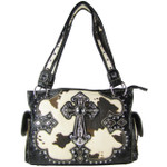 BROWN COW CROSS LOOK SHOULDER HANDBAG HB1-CHF1114BRN