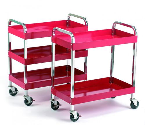 Tool Trolley 2 and 3 shelf