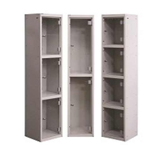 Perspex Door Lockers