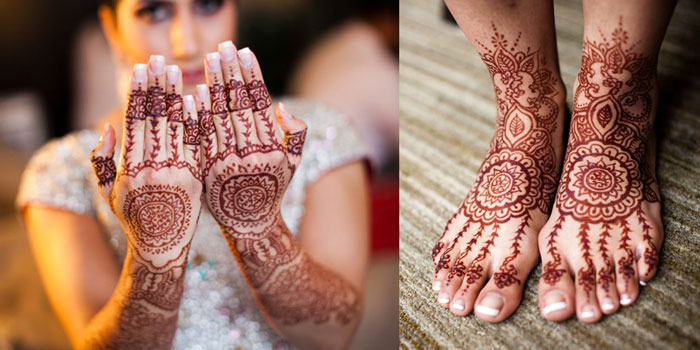 Wedding Henna Designs - Accessorize For Your Wedding With ...