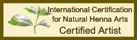 Certified Henna Artist