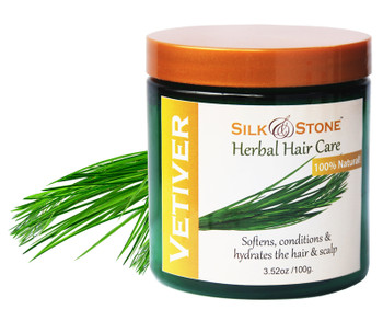 Silk & Stone 100% Pure and Natural Vetiver Powder