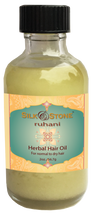 Silk & Stone 100% Natural Ruhani Herbal Hair Oil