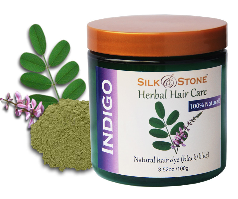Silk & Stone Indigo Powder- 100% natural, high quality ...