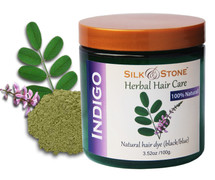 Silk & Stone 100% Natural Indigo (indigofera tinctoria) Powder