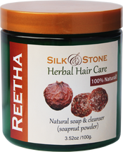 Silk & Stone 100% Natural Reetha Powder
