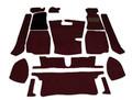 Carpet Set Black MGB 68 to 80, CKDMGB