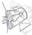 Gear Jackshaft TR7 STAG,CC60